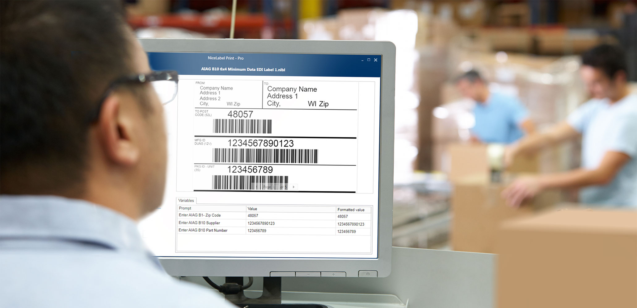 Label Management | Logistica e Trasporti