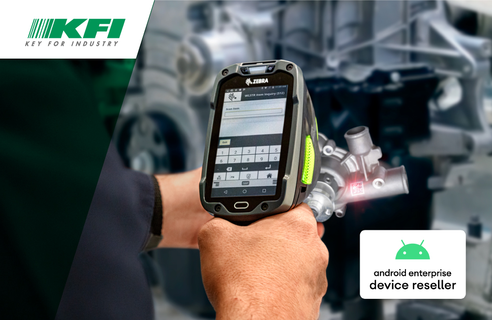 KFI is Android Enterprise Device Reseller