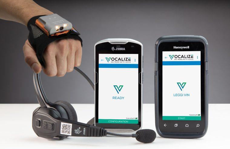 Scanner indossabile ProGlove integrato con la voce